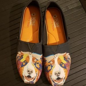 Bobs for Dogs Collie Shoes Flats Memory Foam